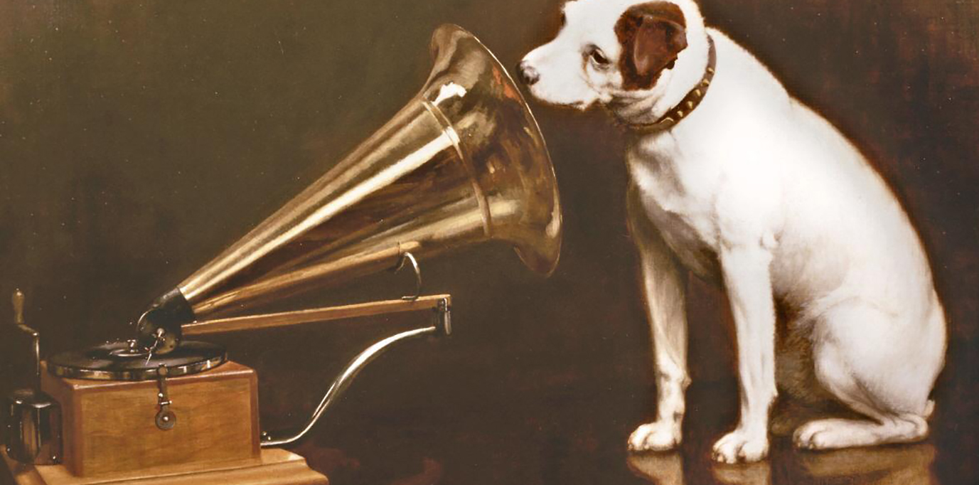 X large his masters voice